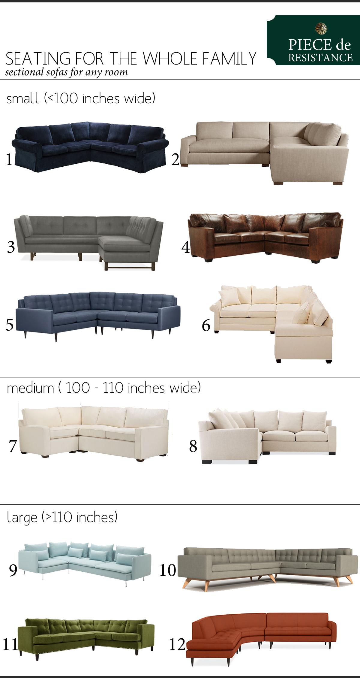 Piece de Resistance The Sectional Sofa