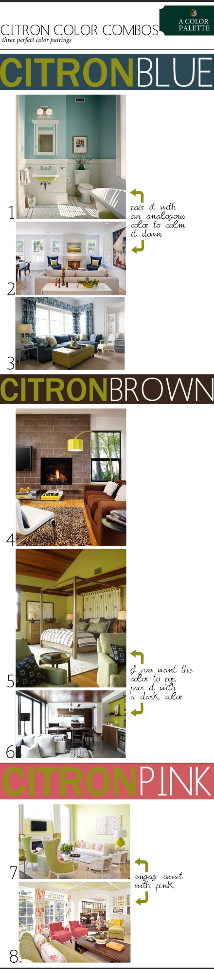 citron color combinations copy