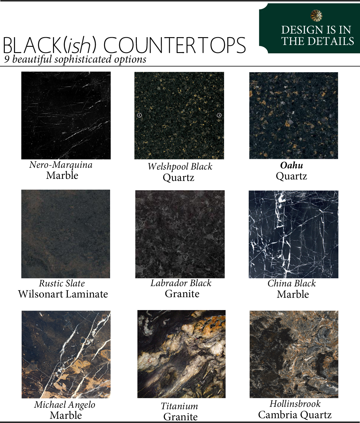 Black Countertops The Anatomy Of Design