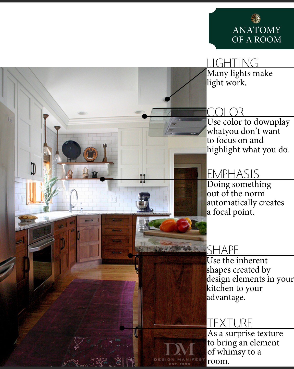 Anatomy of a Modern Craftsman Kitchen   The Anatomy of Design