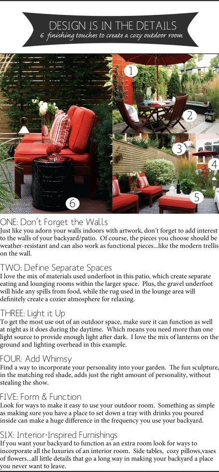 design details for a cozy outdoor room copy