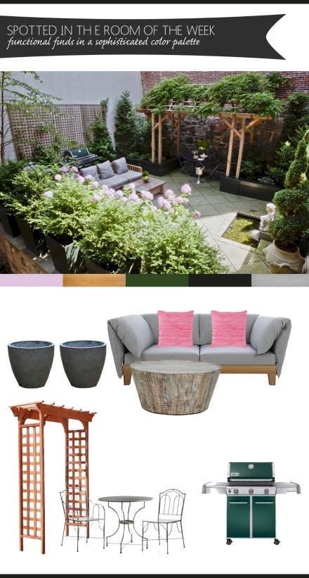 sophisticated color palette patio copy