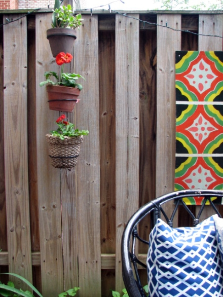 A Southwest-Inspired Backyard Patio | www.theanatomyofdesign.com