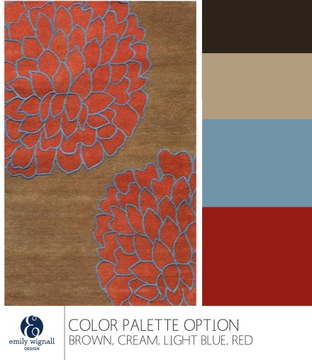 brown red light blue color palette option copy