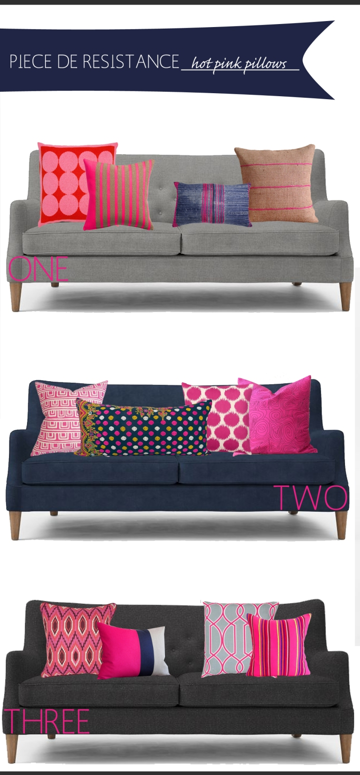 Sources West Elm Livingston Sofa Pillows Left To Right