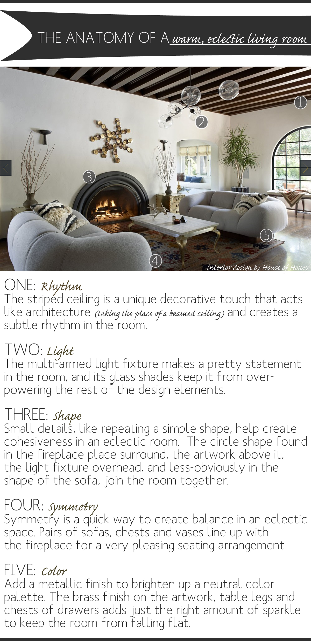 The Anatomy Of A Warm Eclectic Living Room The Anatomy Of Design