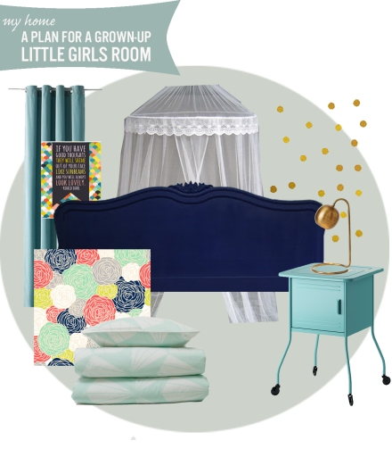 A Grown up Little Girls Room | www.theanatomyofdesign.com