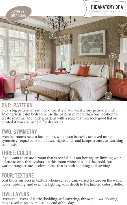 The Anatomy of a Pleasing Place to Rest | www.theanatomyofdesign.com