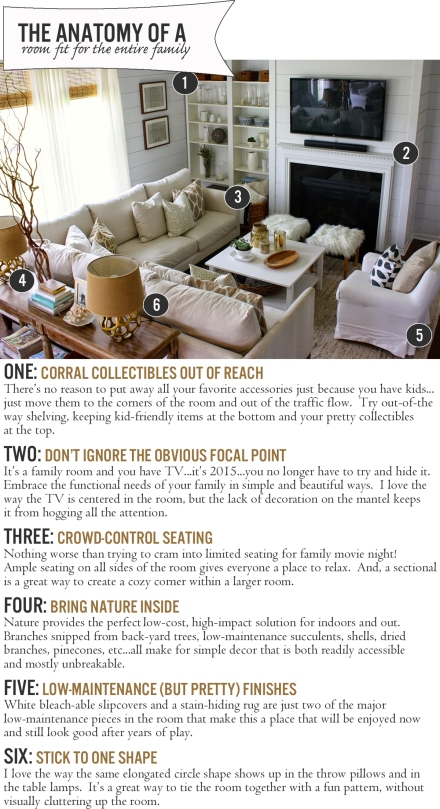 The Anatomy of a Room Fit For the Entire Family | www.theanatomyofdesign.com