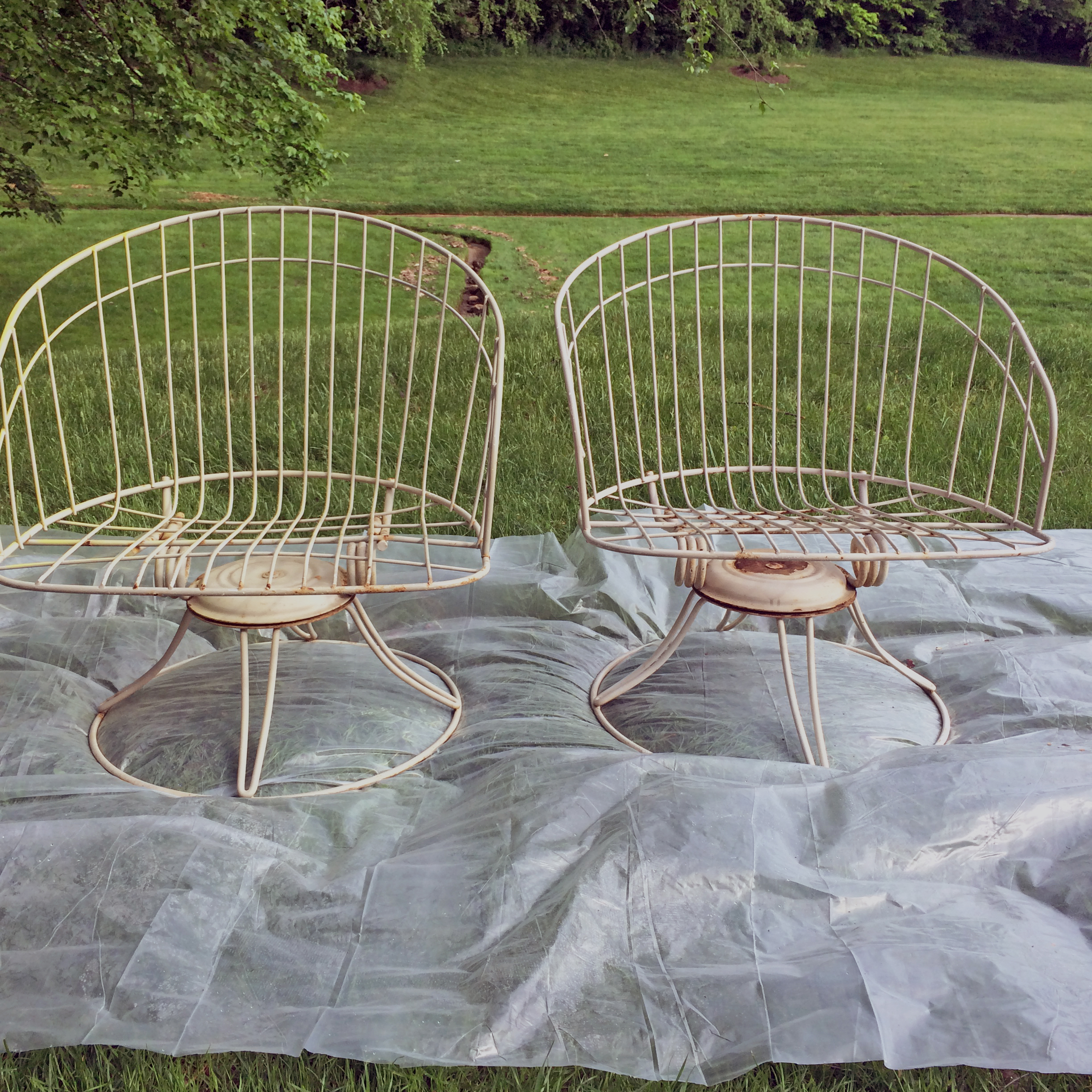 A Mid Century Patio Chair Update The Anatomy Of Design