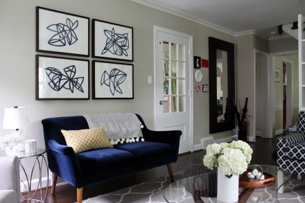 A Transitional Home For a Young Family | www.emilywignalldesign.com