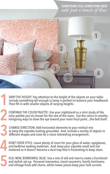 5 Tips to a Perfectly Styled Bedside Table| www.theanatomyofdesign.com