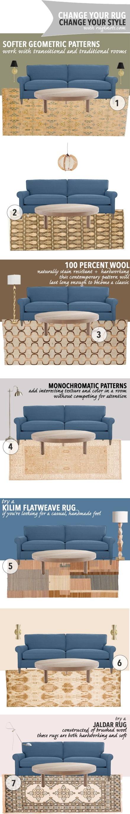 Change Your Rug | Change Your Style |www.theanatomyofdesign.com
