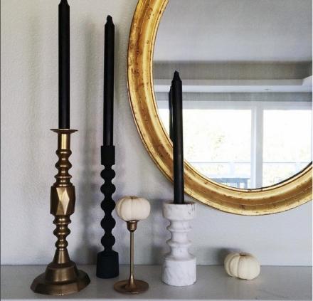 Fall Fireplace Mantle Styling | www.theanatomyofdesign.com