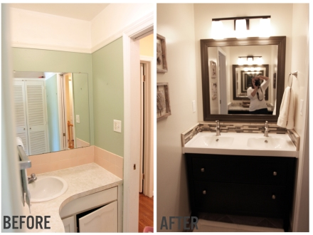 Modern Traditional Bathroom Renovation | www.emilywignalldesign.com